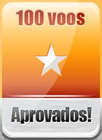 Concedido ao piloto que completou 100 voos pela TransBrasil Virtual
